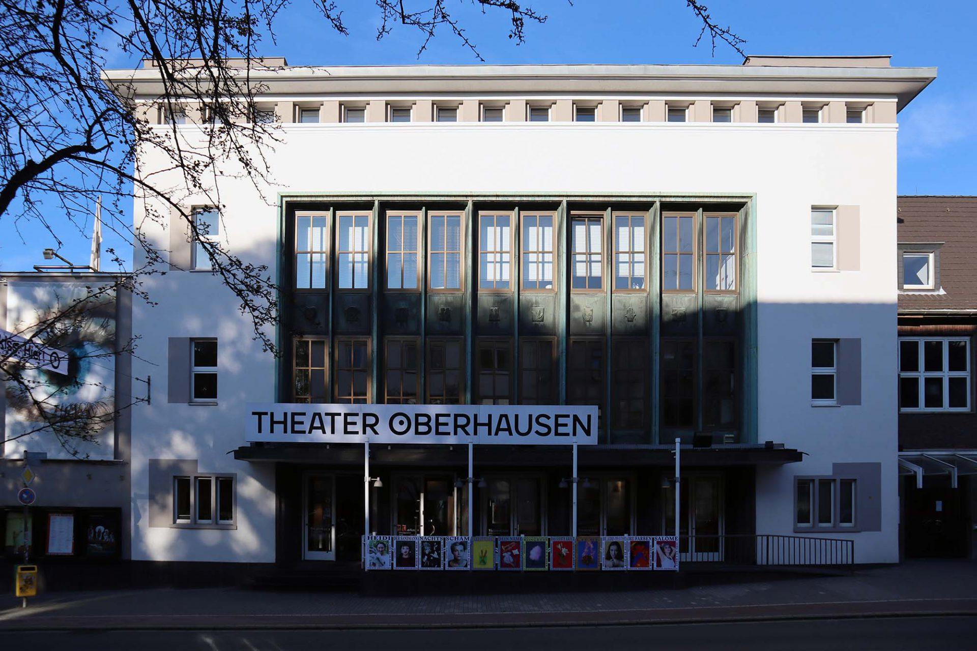 Theater Oberhausen. Im ehemaligen Malersaal, einer der größten Theaterwerkstätten, befindet sich heute der Saal 2.