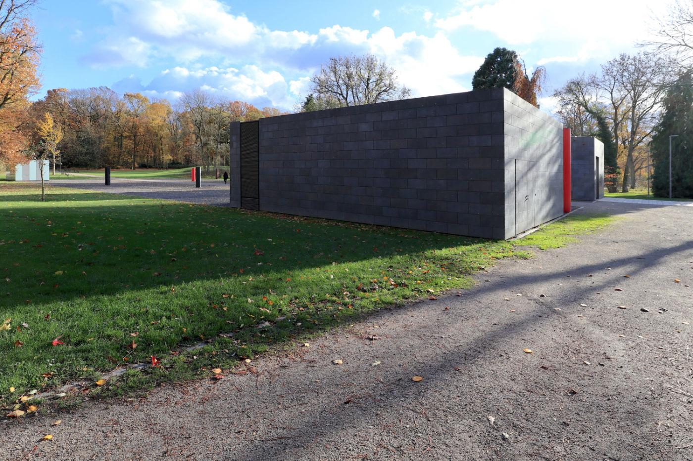 Situation Kunst (für Max Imdahl). Museum unter Tage (MuT) von Vervoorts & Schindler Architekten. Max Imdahl (1925–1988) war Kunsthistoriker und lehrte von 1965 bis zu seinem Tod Kunstgeschichte an der Ruhr-Universität Bochum.