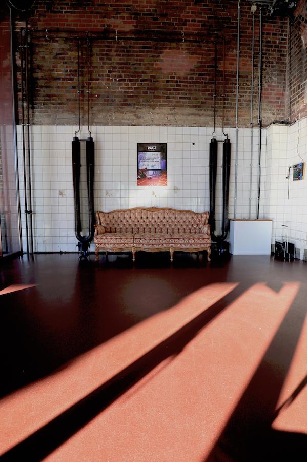 PACT Zollverein / Choreographisches Zentrum. Der behutsame Umbau lässt viel Raum für die heutige Nutzung durch Künstler, Tänzer und Performer aus dem In- und Ausland.