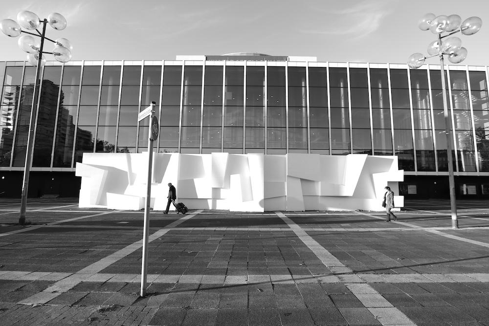 Musiktheater im Revier. ... war von dem Architekten und Stadtplaner Werner Ruhnau mit Ortwin Rave und Max von Hausen als ...