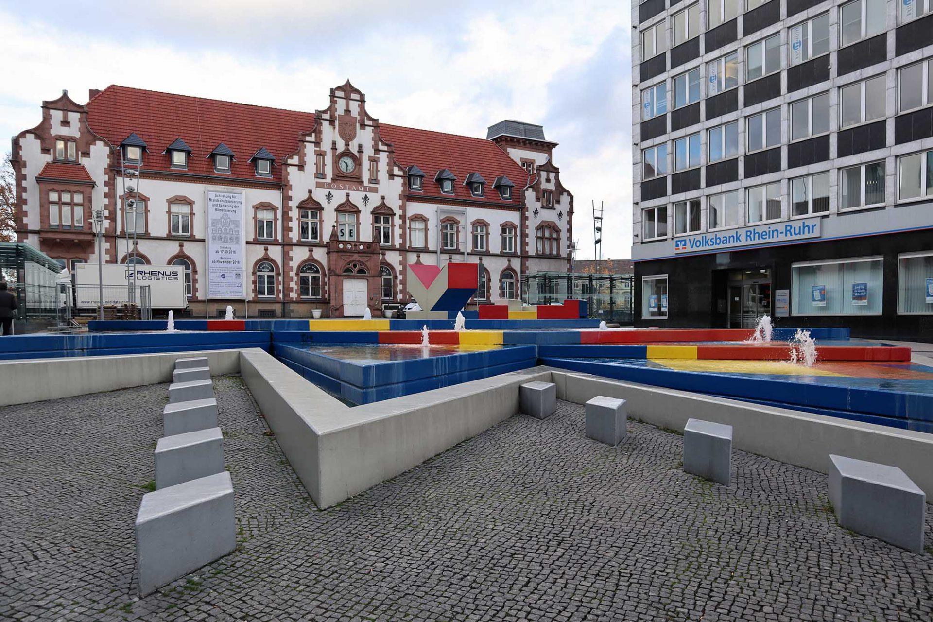 Kunstmuseum Mülheim an der Ruhr. Das Kunstmuseum befindet sich seit 1994 in der ehemaligen Hauptpost.