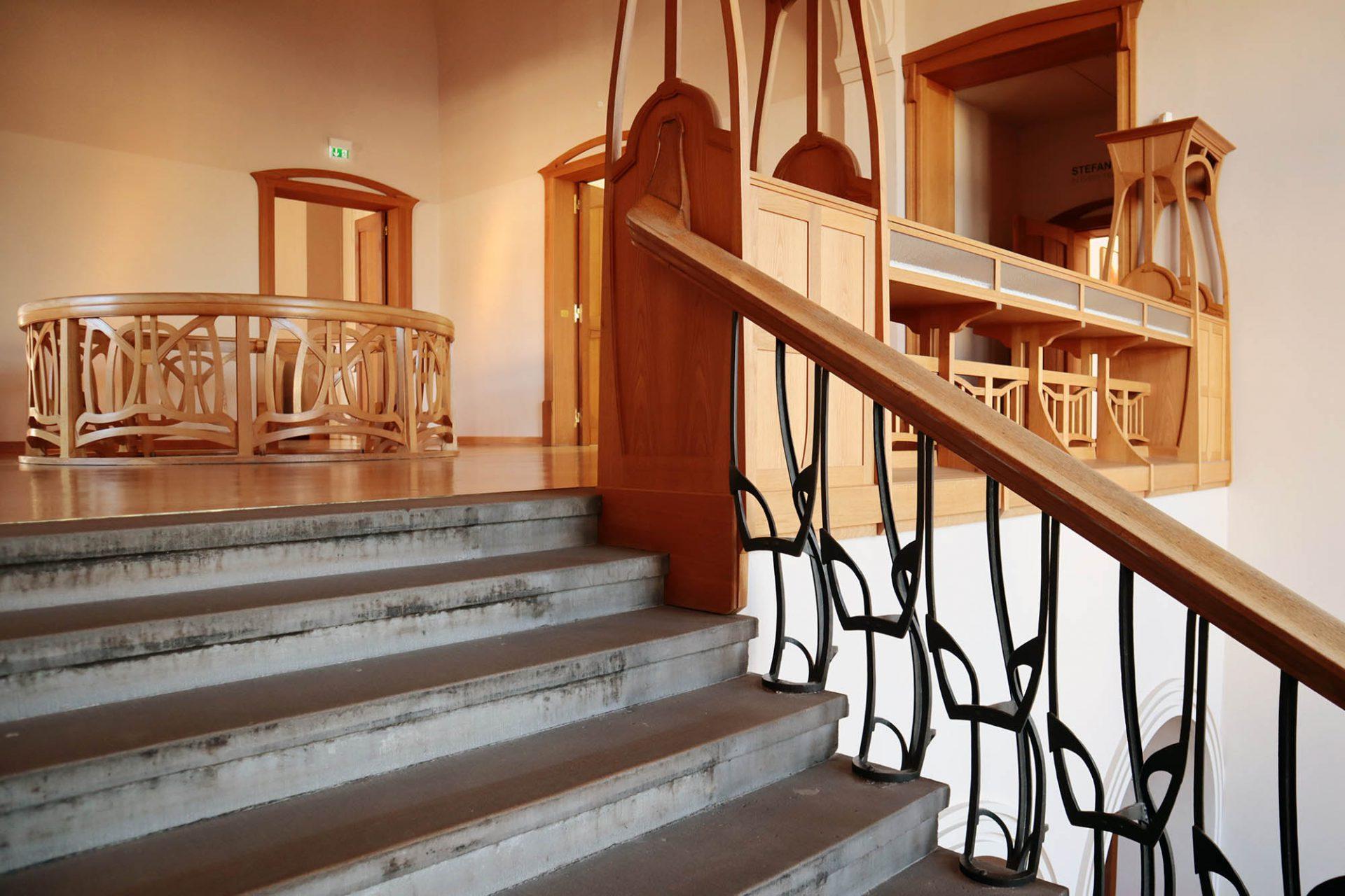 Osthaus Museum. Die Inneneinrichtung wurde 1991 weitgehend rekonstruiert.