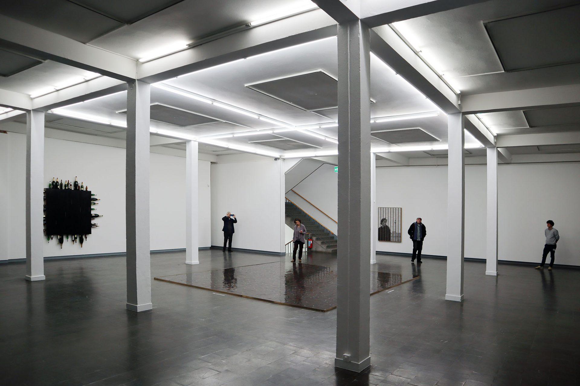 Kunsthalle Recklinghausen. Die Ausstellungsräume selbst sind schlicht und zurückhaltend.