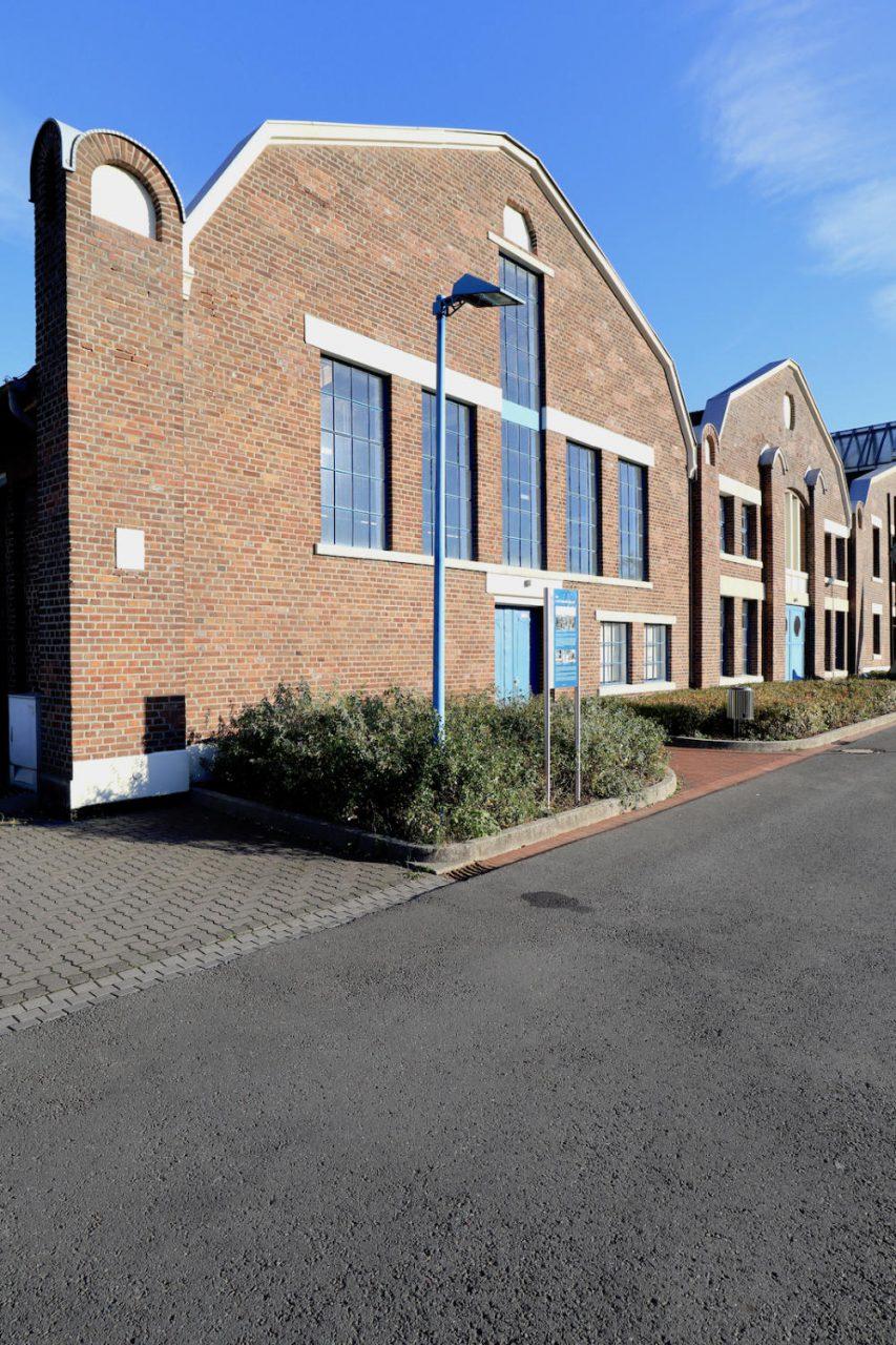 Flottmann Hallen. Die ehemaligen Produktionshallen wurden vom Unternehmer Heinrich Flottmann in Auftrag gegeben.