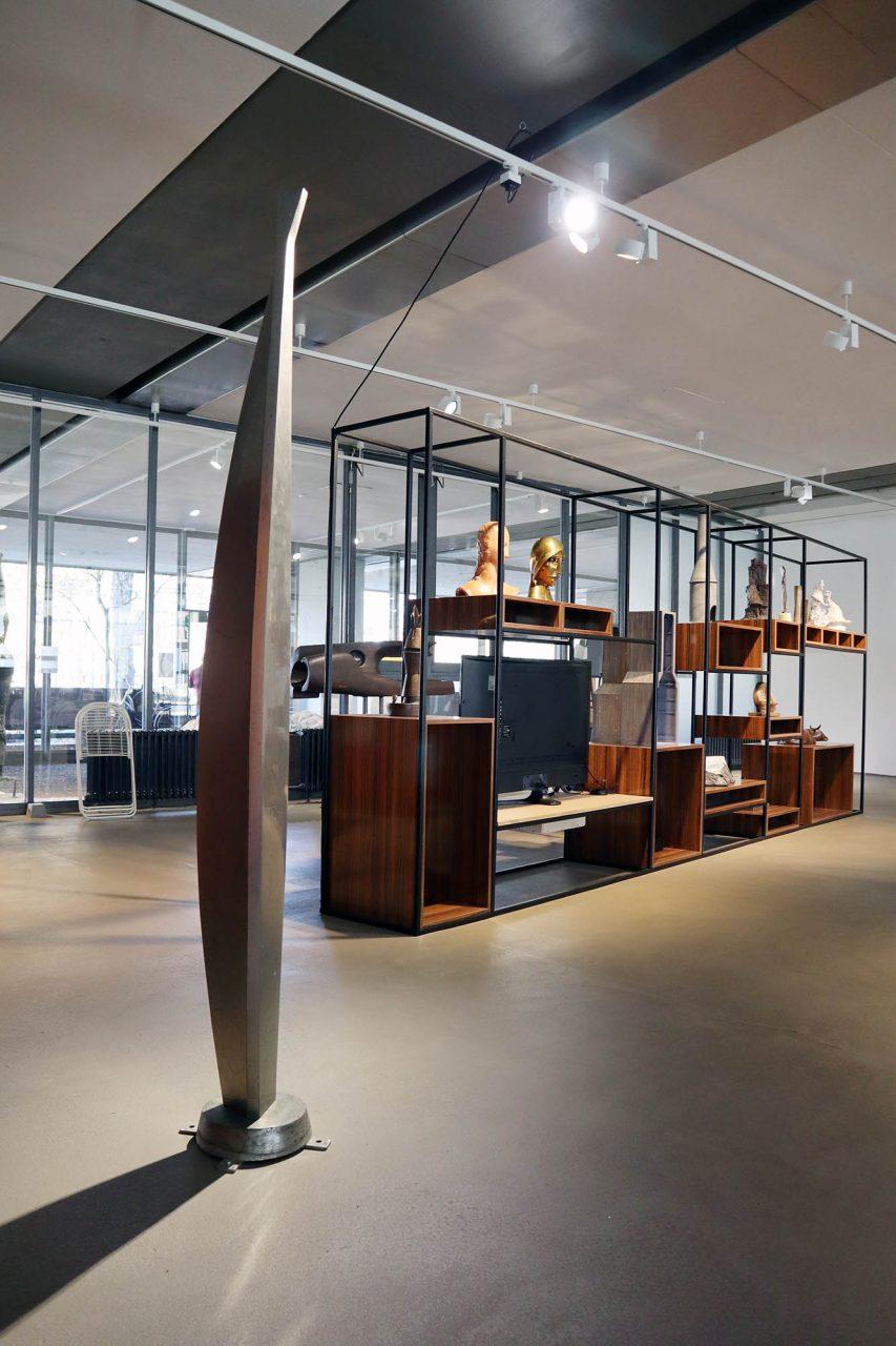 Skulpturenmuseum Glaskasten. Sammlung mit Groß- und Kleinskulpturen renommierter Künstler des 20. Jahrhunderts
