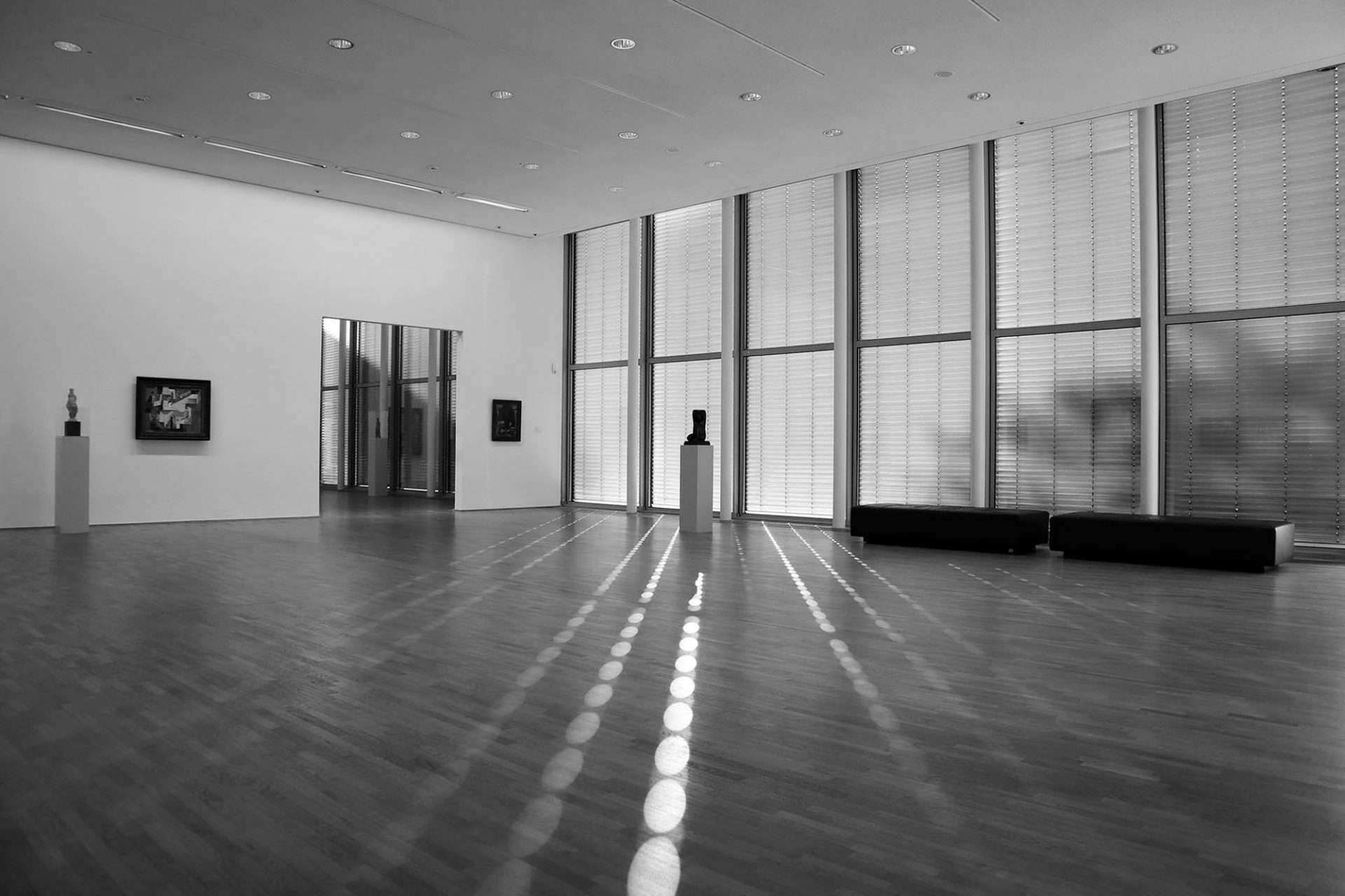 Museum Folkwang. 1. Erweiterung: Kiemle, Kreidt und Partner, Allerkamp, Niehaus, Skonia (1983) 2. Erweiterung: David Chipperfield Architects (2010).