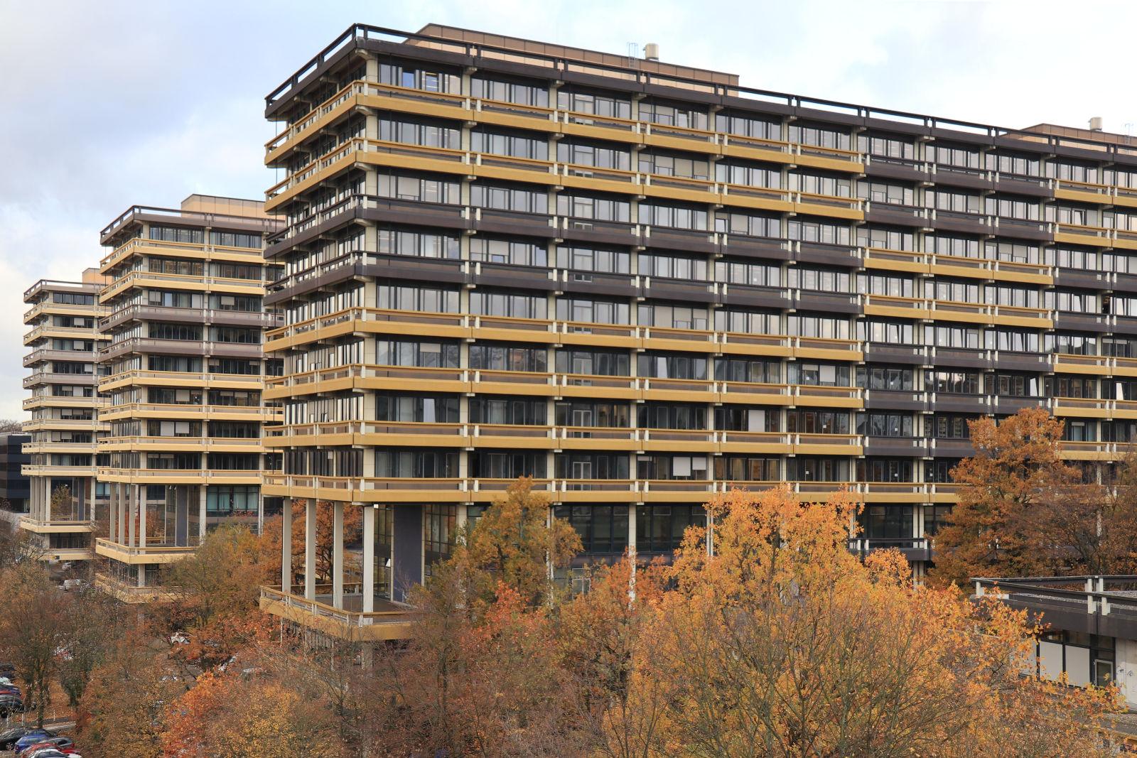 Die Ruhr-Universität Bochum RUB. 20 Fakultäten, 520 Hektar groß, 43.000 Studierende