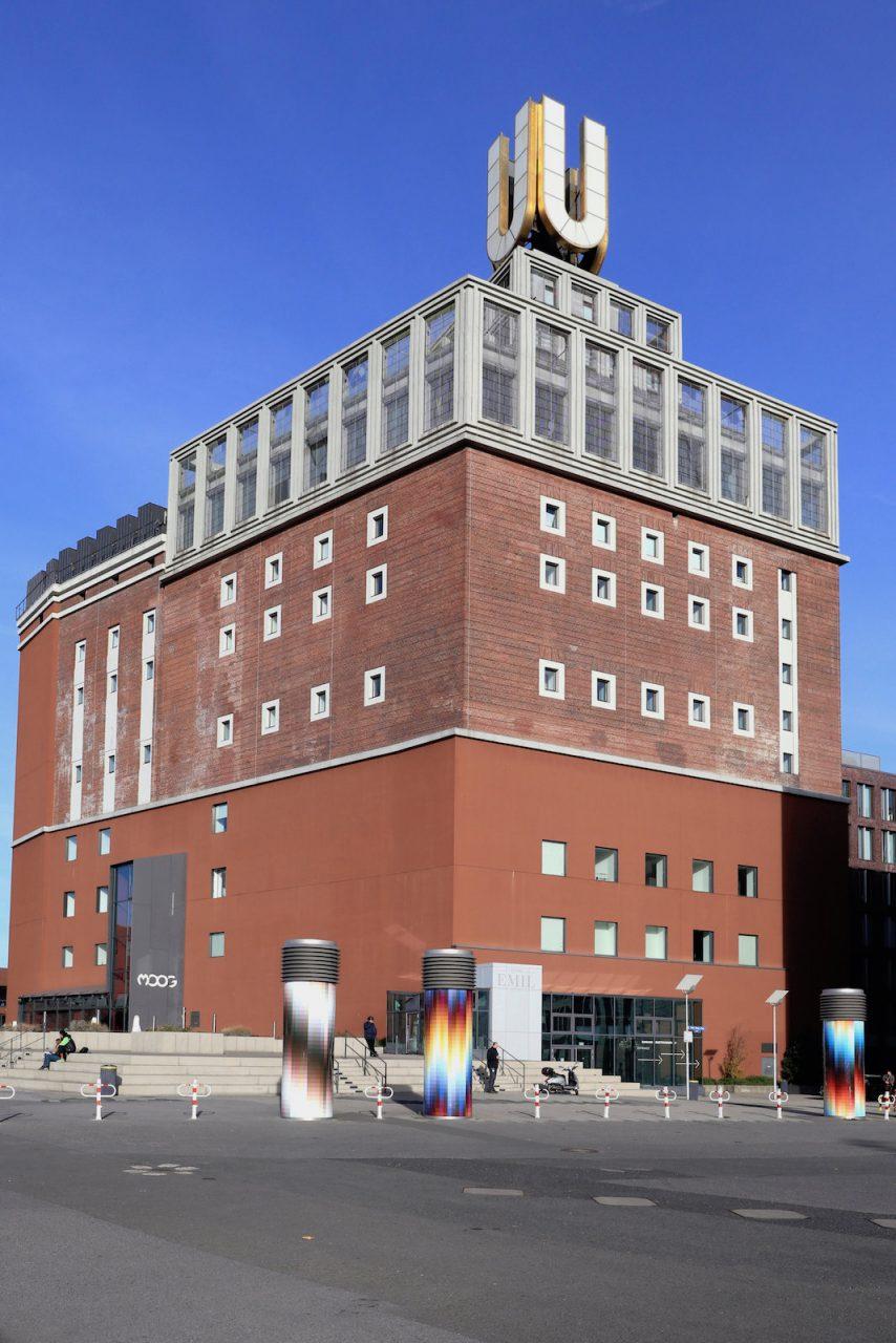 Dortmunder U. Entwurf Brauerei von Emil Moog, 1927 fertiggestellt. Umbau durch Gerber Architekten. Fertigstellung 2010.