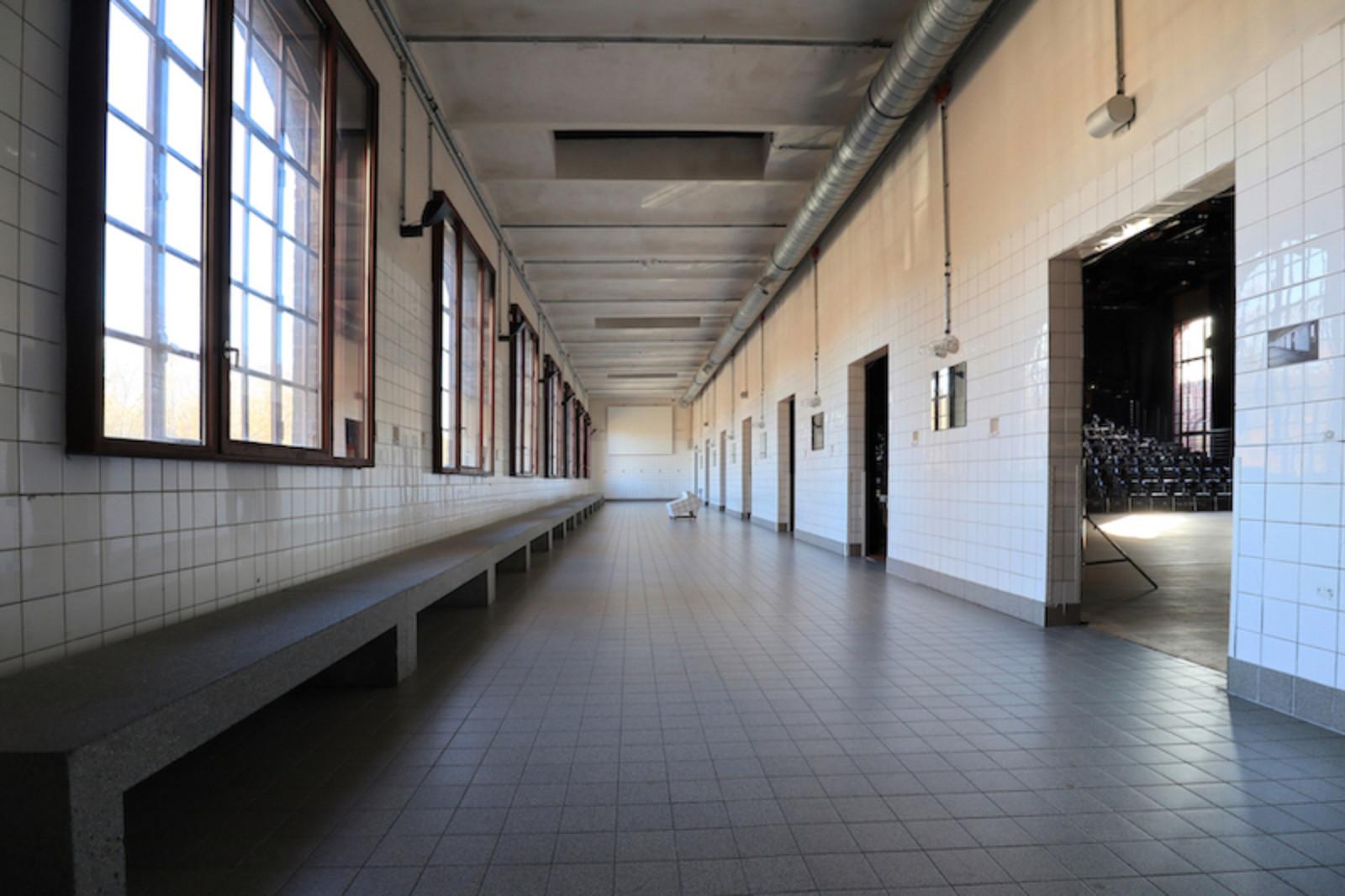 PACT Zollverein. Umbau der alten Waschkaue: Christoph Mäckler. Fertiggestellung: 2000.