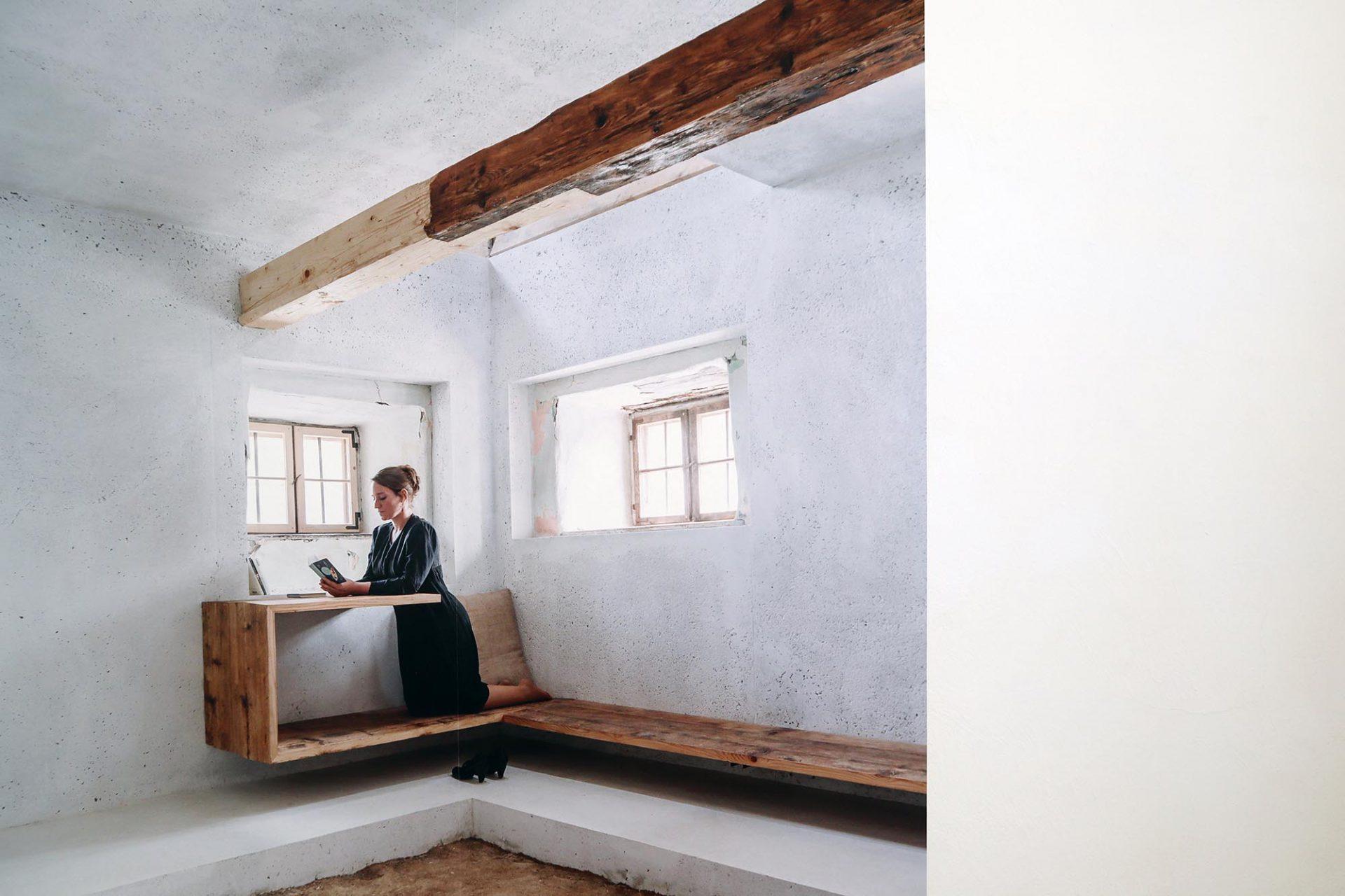 Ausstellung Bayerwaldzyklus Peter Haimerl. Architektur