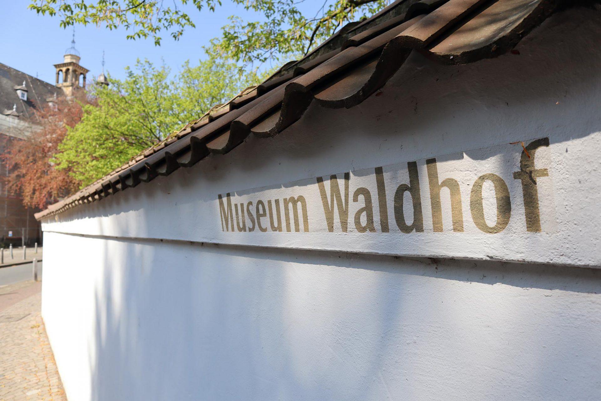 Bielefelder Kunstverein. Das Museum Waldhof ist eines der ältesten Gebäude der Stadt.