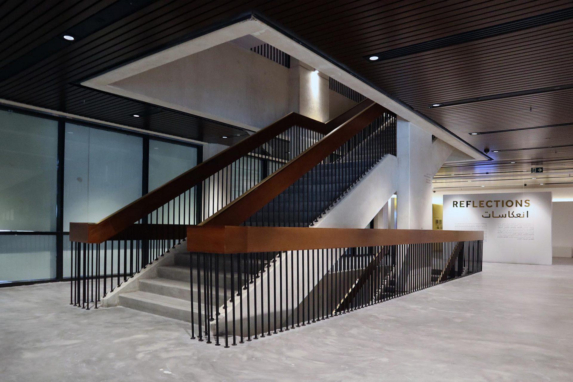 Cultural Foundation. Der Treppenlauf in der Ästhetik der späten 1970er-Jahre.