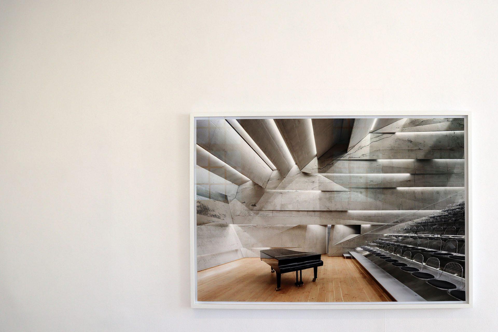 Bayerwaldzyklus Peter Haimerl. Architektur.. Konzerthaus Blaibach