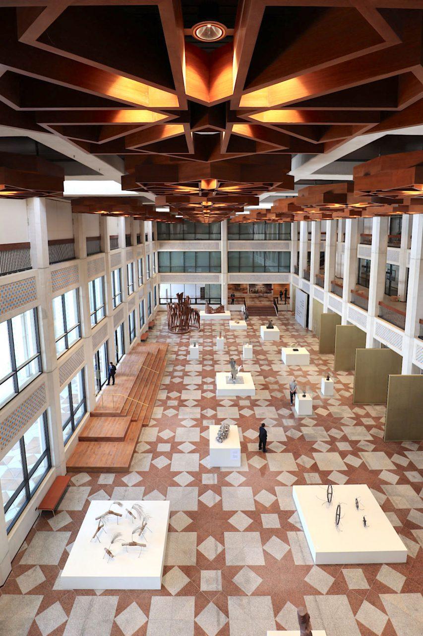 Cultural Foundation. Das Gebäude wurde innen wie außen wirkungsvoll renoviert.