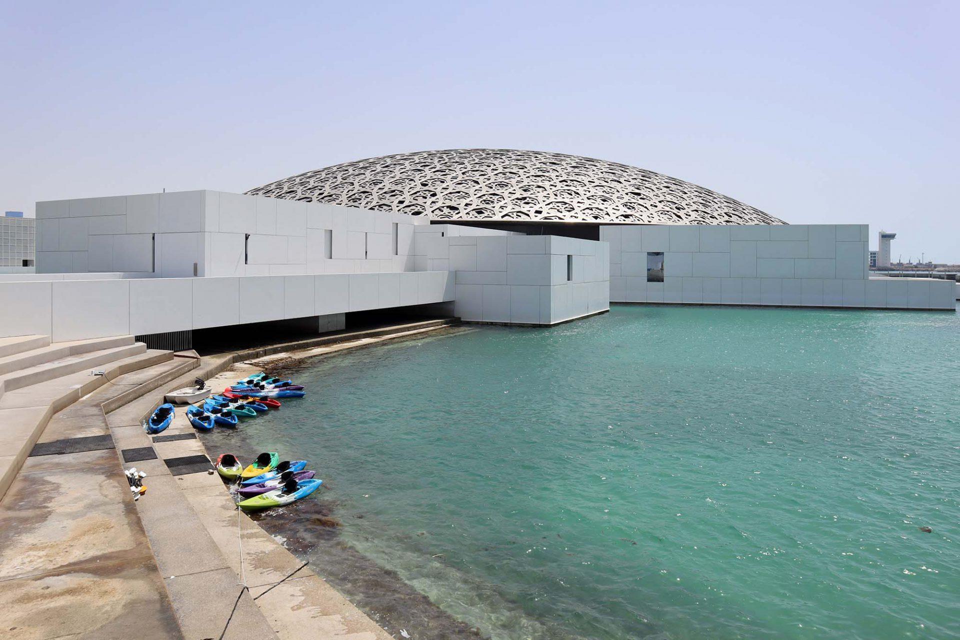 Louvre Abu Dhabi. Der Prestigebau mit der Lichtkuppel