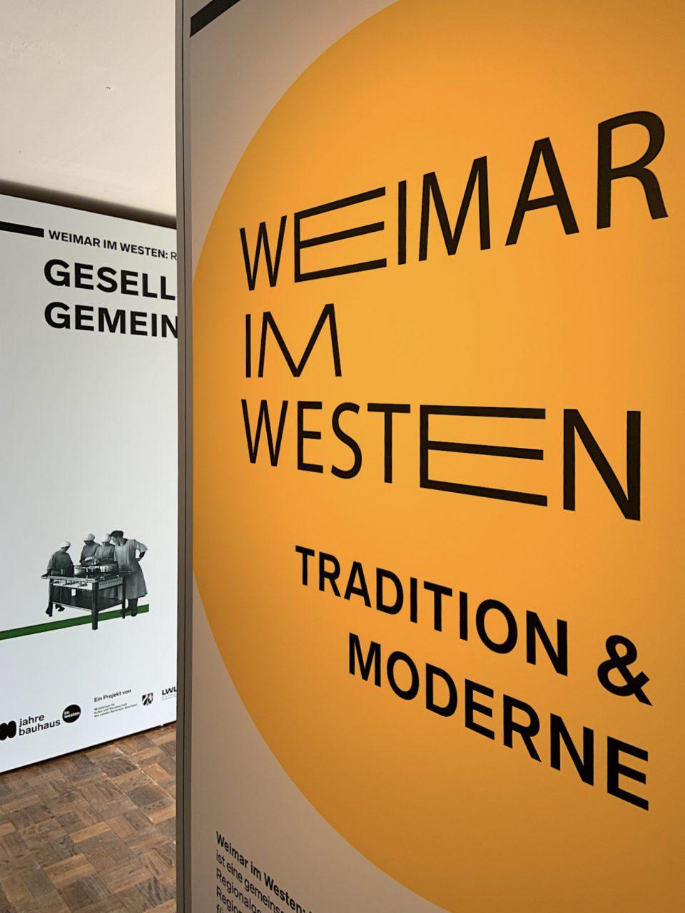 """Museum für Kunst und Kunstgeschichte. Das MKK in Dortmund zeigt bis 23.6.2019 die multimediale Wanderausstellung """"Weimar im Westen: Republik der Gegensätze"""". Danach macht die Schau Station in Bielefeld, Vogelsang, Minden und Münster."""