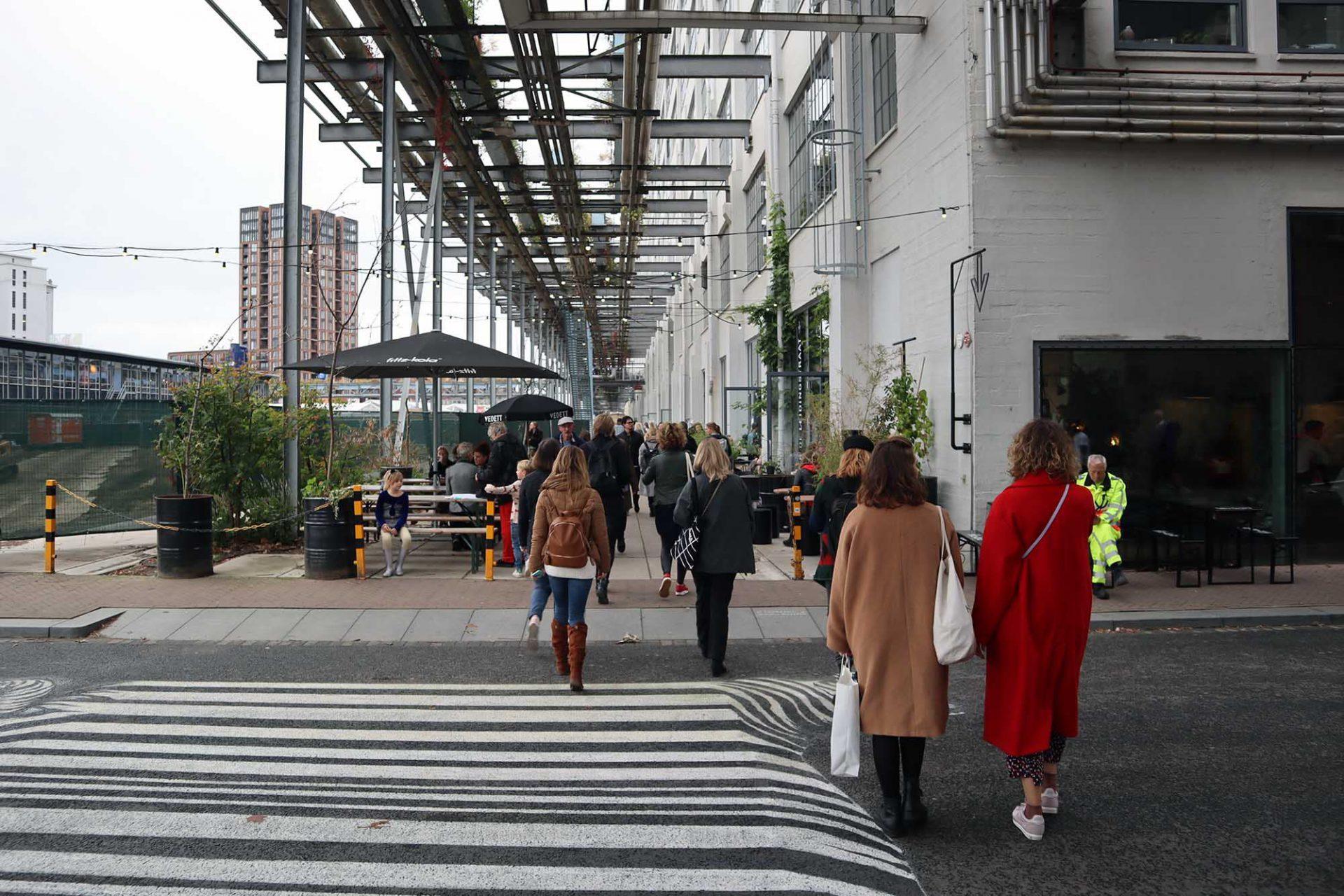Strijp-S. ... mit städtischen Boulevards.