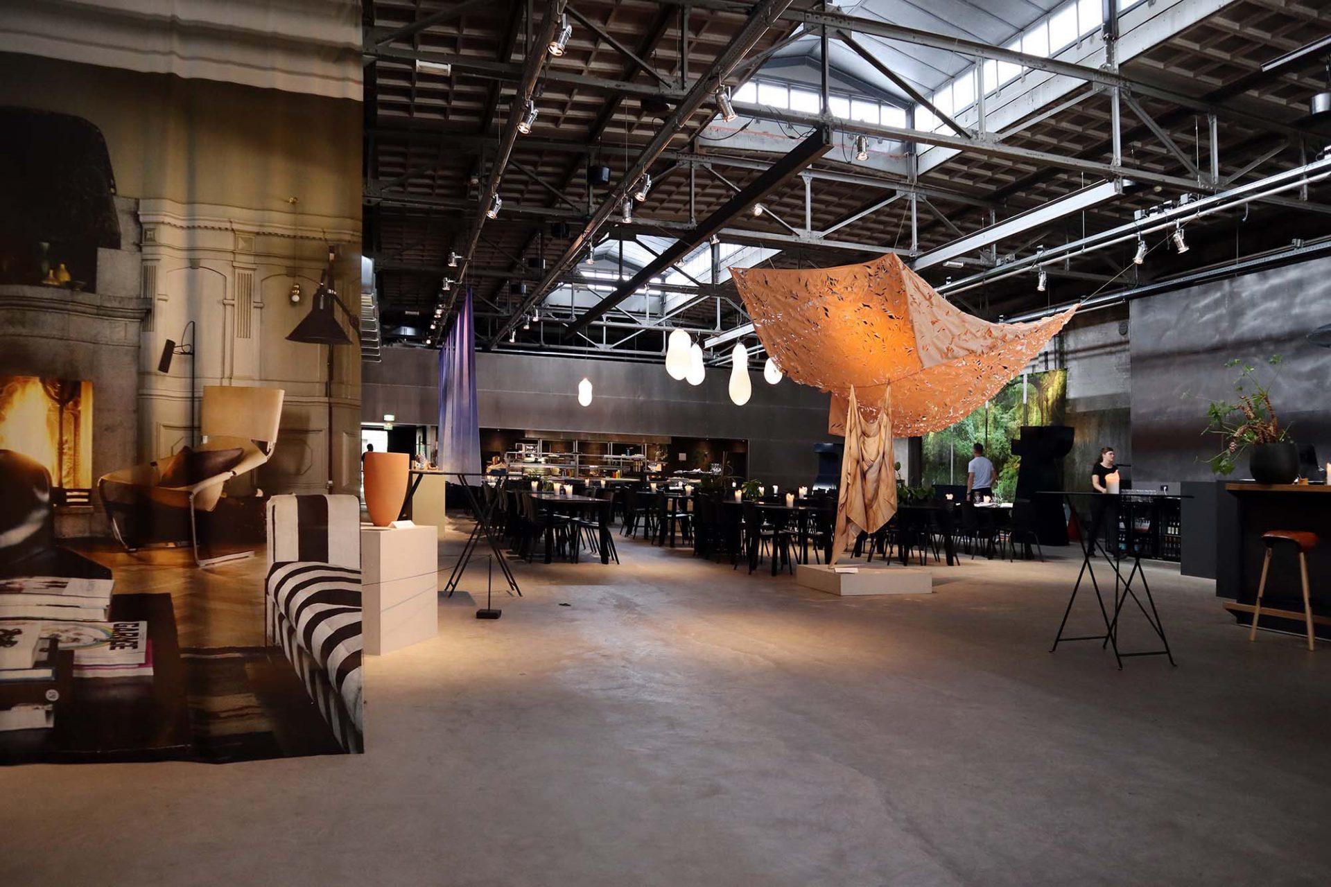 Kazerne. ... und ein Ort, an dem Design auf besonders angenehme Weise vermittelt wird.