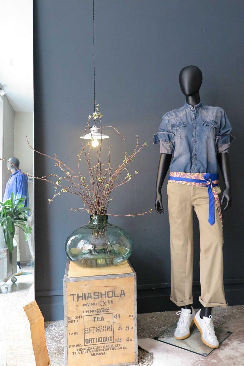 Tragbar. Die Modedesignerin Katrin Stallmann entwirft Upcycling Mode. Dort wo über Jahrhunderte Stoffe produziert und verarbeitet wurden.