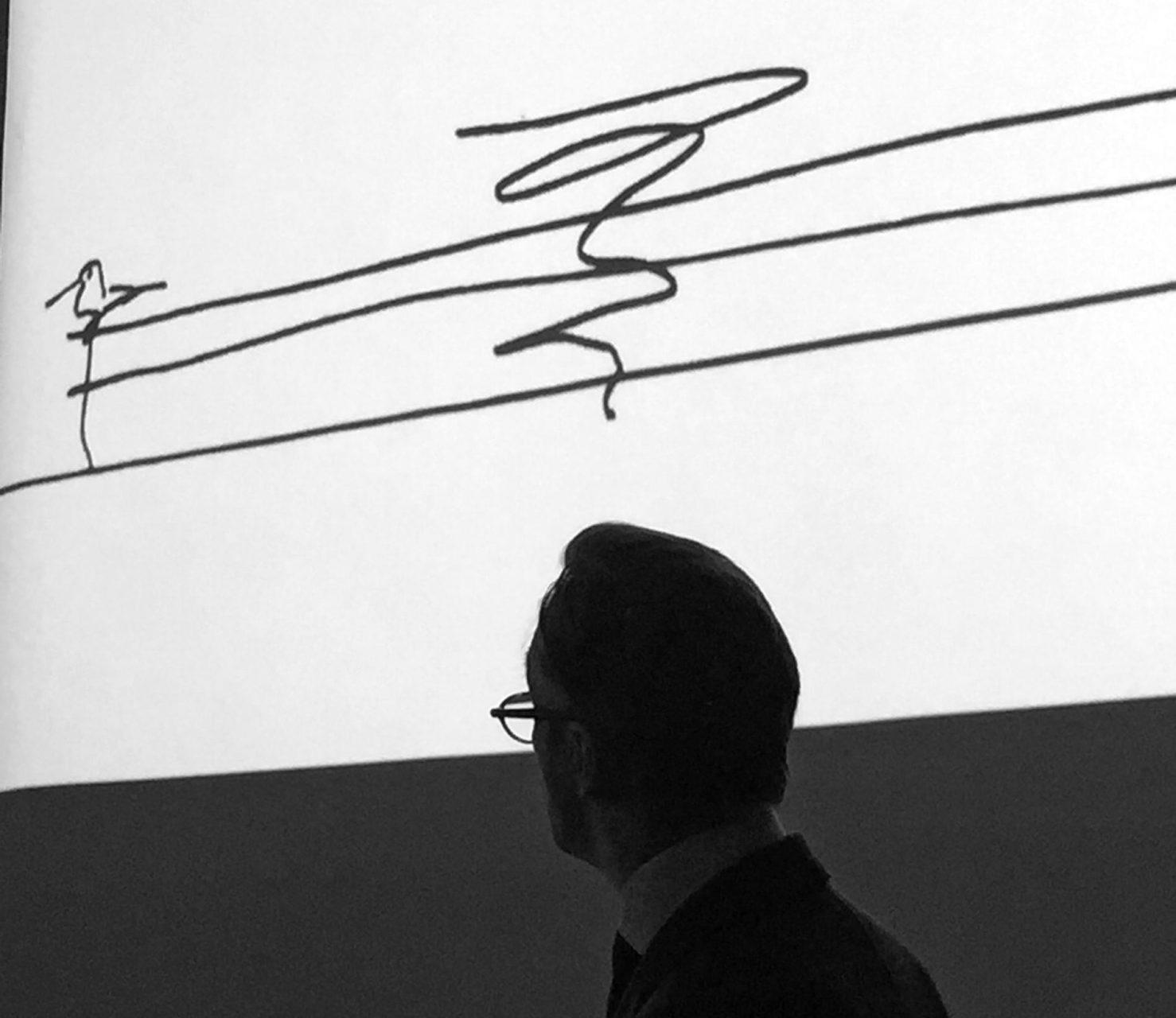 """""""Die Spirale. zeigt die Bewegung der Migration und weist von der Vergangenheit in die Zukunft"""", so ist Stiftungsdirektor Wim Pijbes von der symbolischen Kraft der """"spiral staircase"""" überzeugt."""