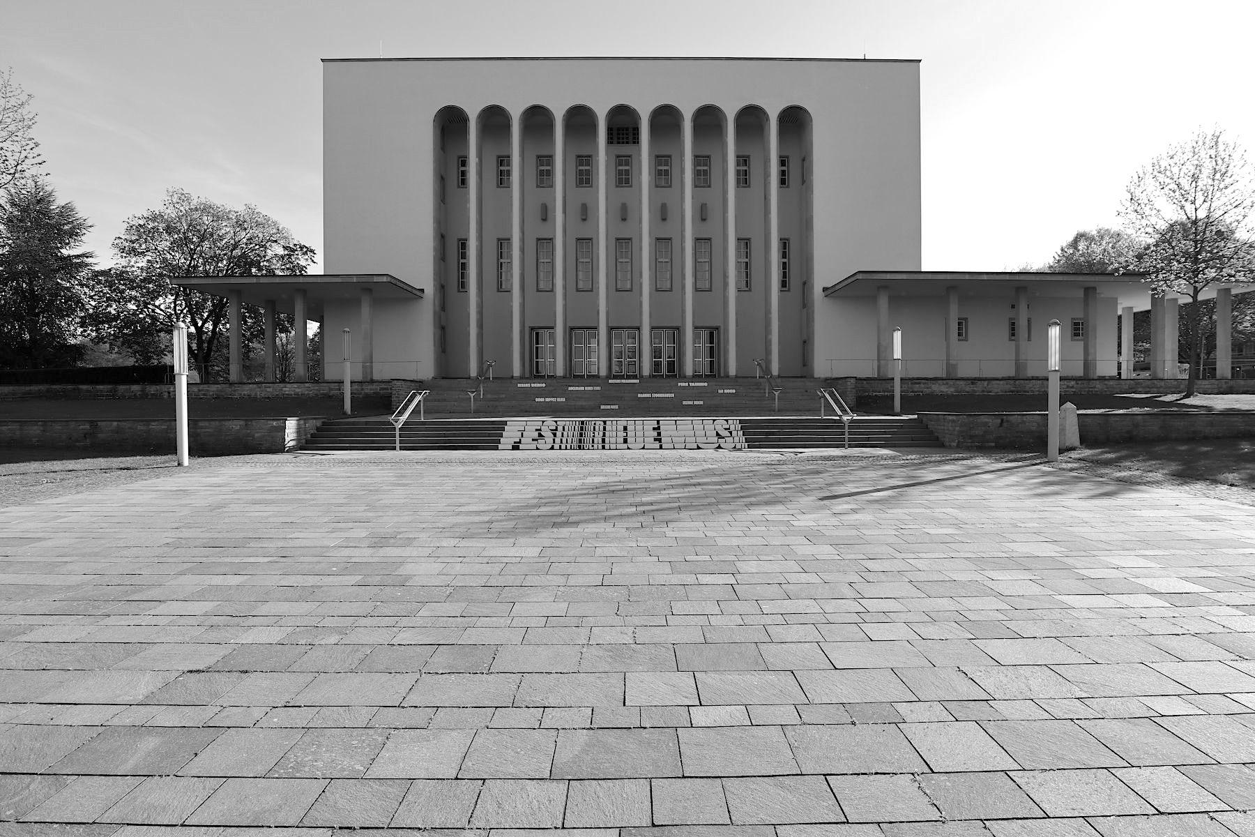 Oetkerhalle. Eine Perle der Architektur der späten 1920er-Jahre.
