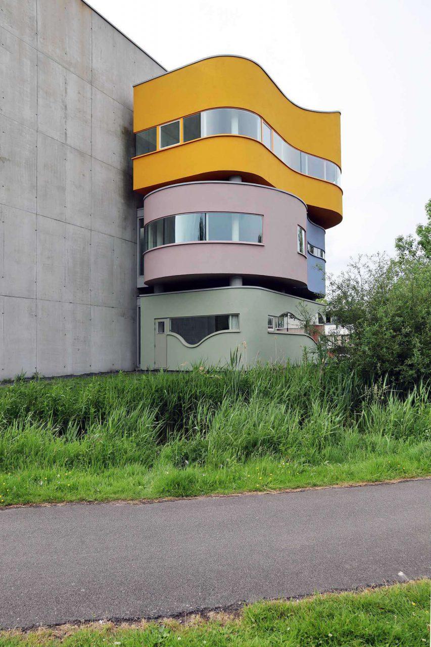 Wall House #2. Realisiert wurde aber nur die Nr. 2 in Groningen.