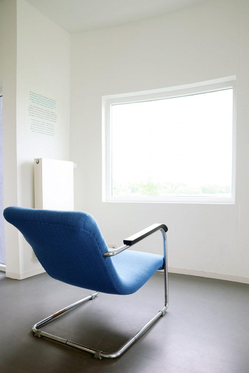 Wall House #2. Seine Arbeiten konzentrieren sich häufig auf die reine Anordnung verschiedener Volumina und sind von Le Corbusier und Mies van der Rohe inspiriert.