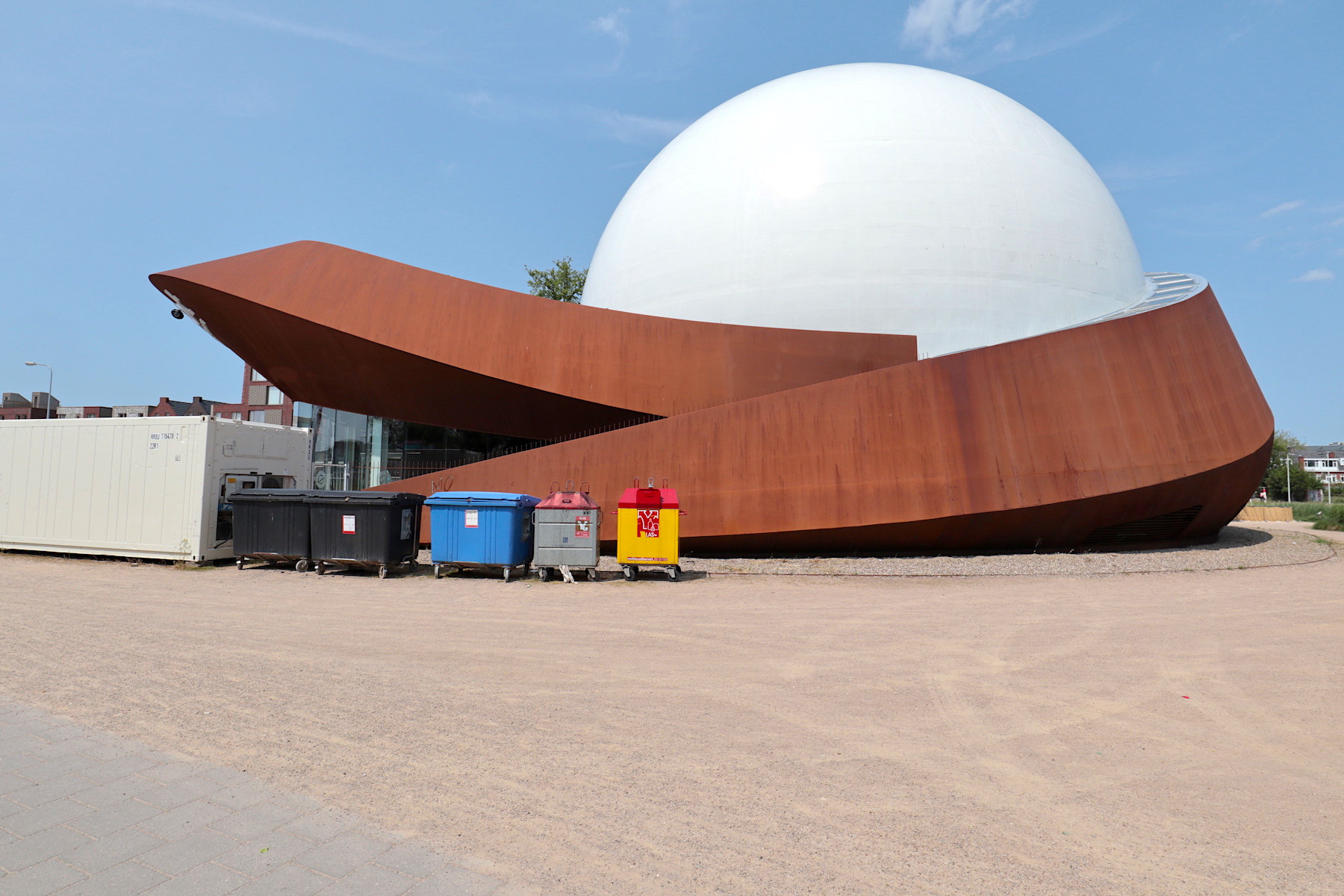 DOT. CIG Architecture, 2014. Café und Restaurant mit Veranstaltungsräumen.