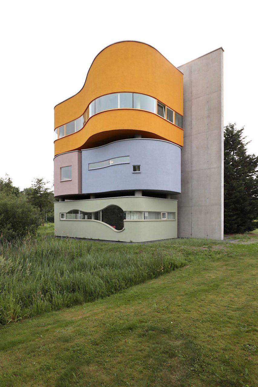 Wall House #2. Die Wall House-Serie gilt als Hejduks Meisterwerk.
