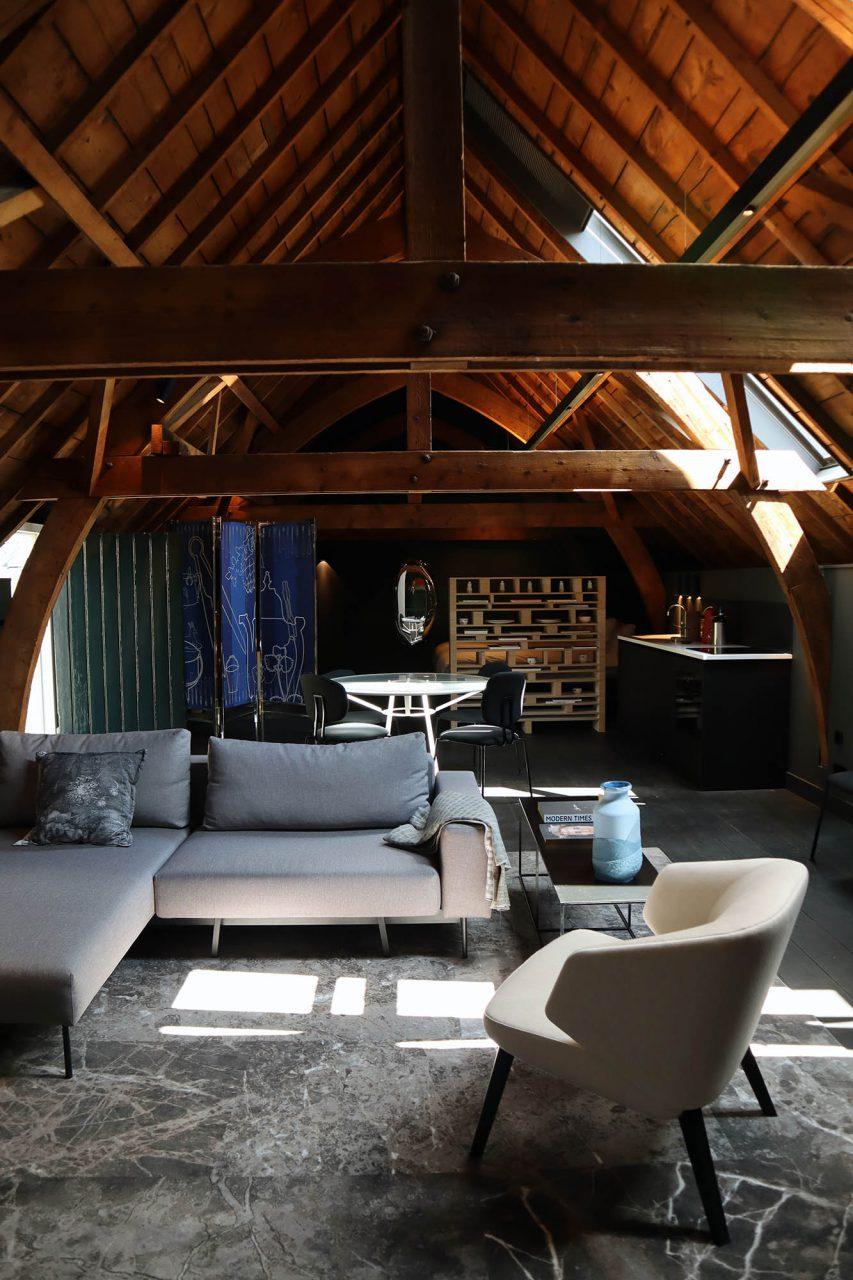 Kazerne. Jedes Detail ist liebevoll gestaltet und jedes Zimmer hat seinen eigenen Charakter.
