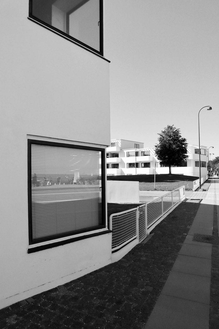 Bellavista Wohnanlage. Entwurf: Arne Jacobsen. Fertigstellung: 1934.