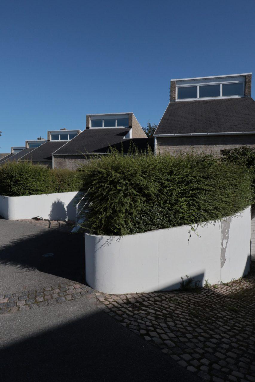 Søholm Reihenhäuser. Entwurf: Arne Jacobsen. Bauzeit: 1945–1954.