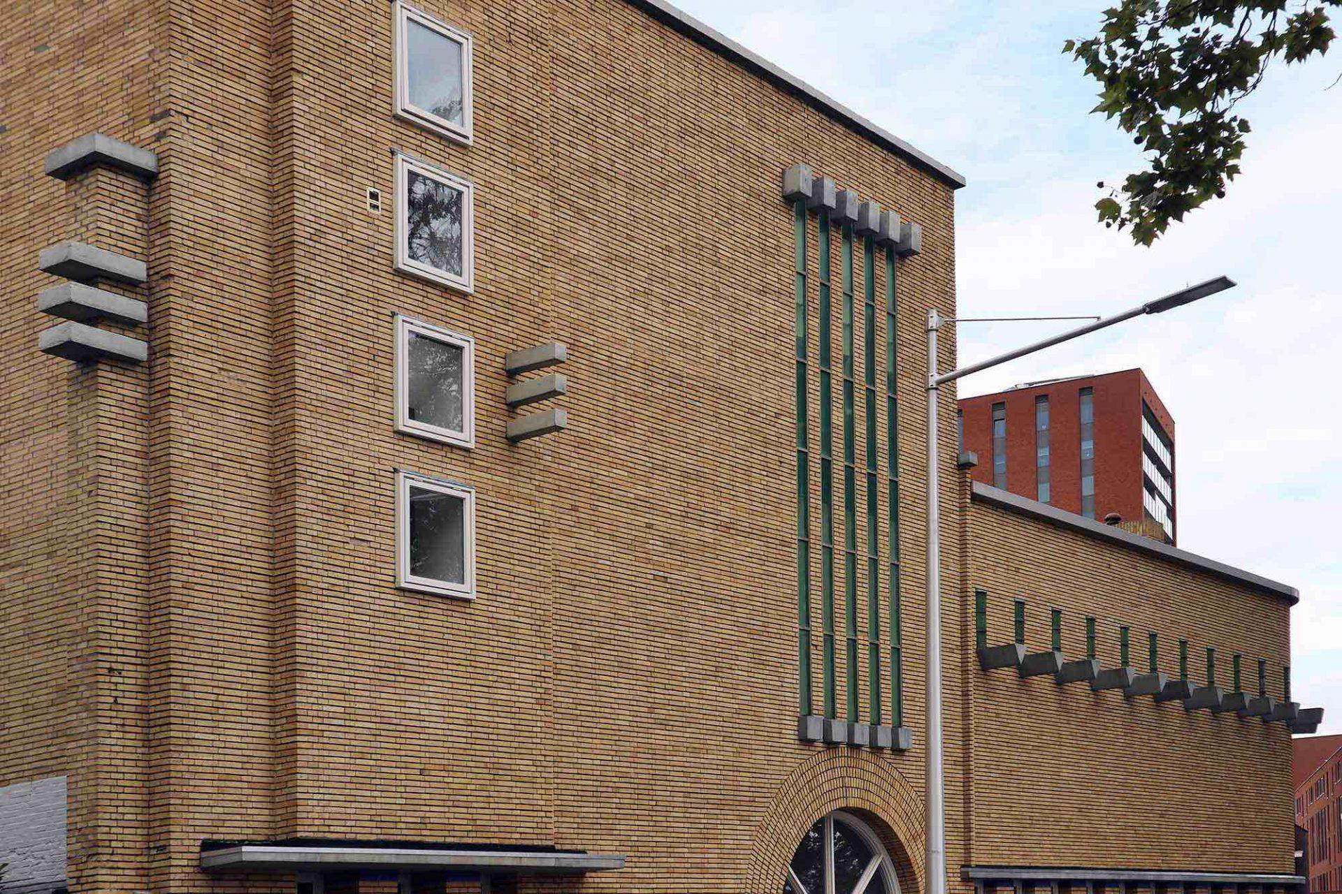 Meelfabriek. Der Tilburger Architekt Jos Schijvens ließ sich 1935 von der Form eines Schiffes inspirieren.