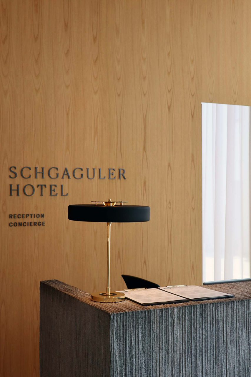 """Schgaguler Hotel. """"Ein besonderes Boutiquehotel in den Dolomiten"""", so bewirbt sich das Traditionshaus in Castelrotto (dt. Kastelruth)."""