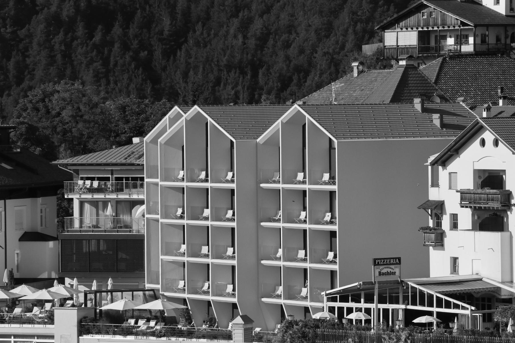 Schgaguler Hotel, Kastelruth. Entwurf: Peter Pichler. Fertigstellung: 2018.