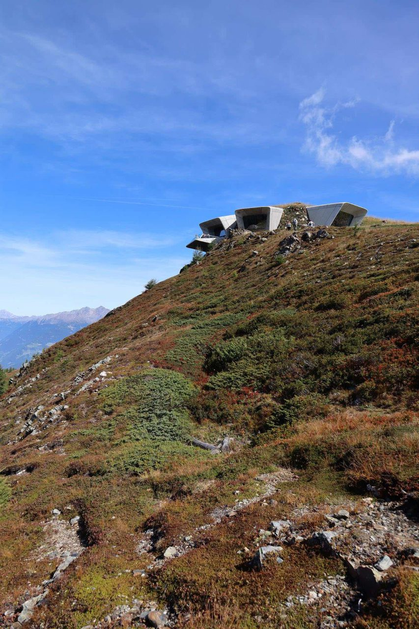 Messner Mountain Museum MMM Corones. Entwurf: Zaha Hadid. Fertigstellung: 2015.