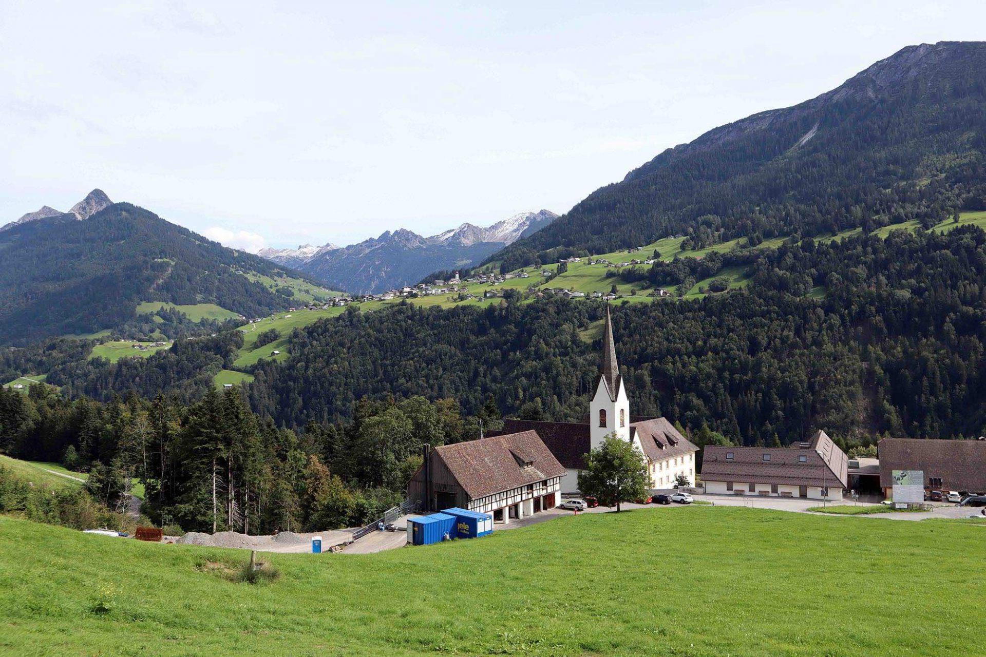 Propstei St. Gerold. Die kulturelle Keimzelle und das spirituelle Zentrum des Tals.
