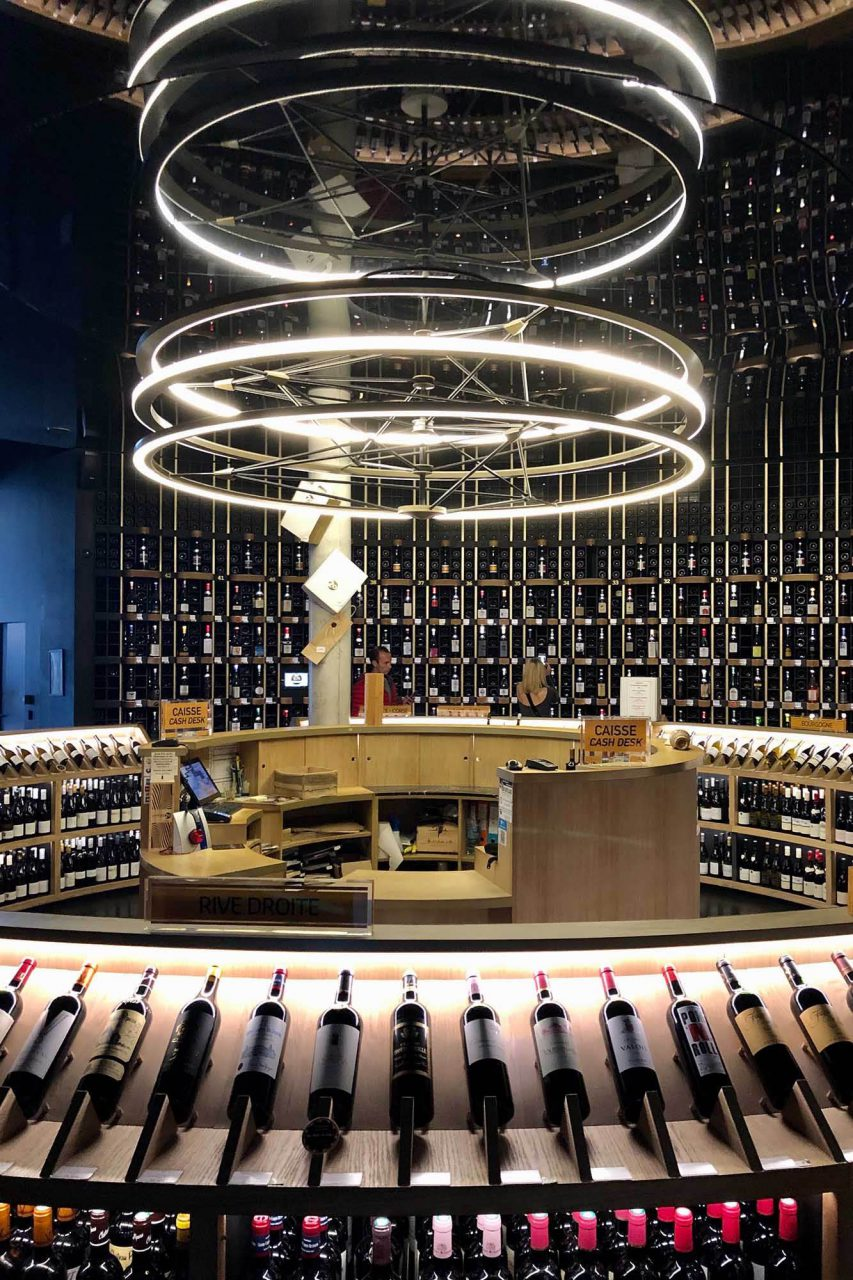 La Cité du Vin. ... und verführt.