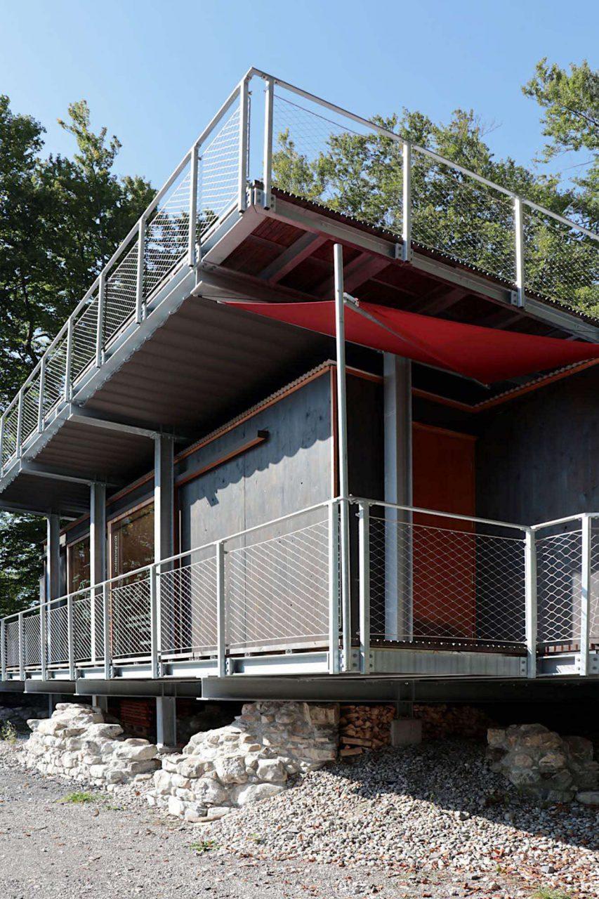 Kulturraum Blumenegg. Die Idee entstand im Rahmen des Walserherbst 2014 mit Dietmar Nigsch, dem Biosphärenpark Großwalsertal und dem Verein.