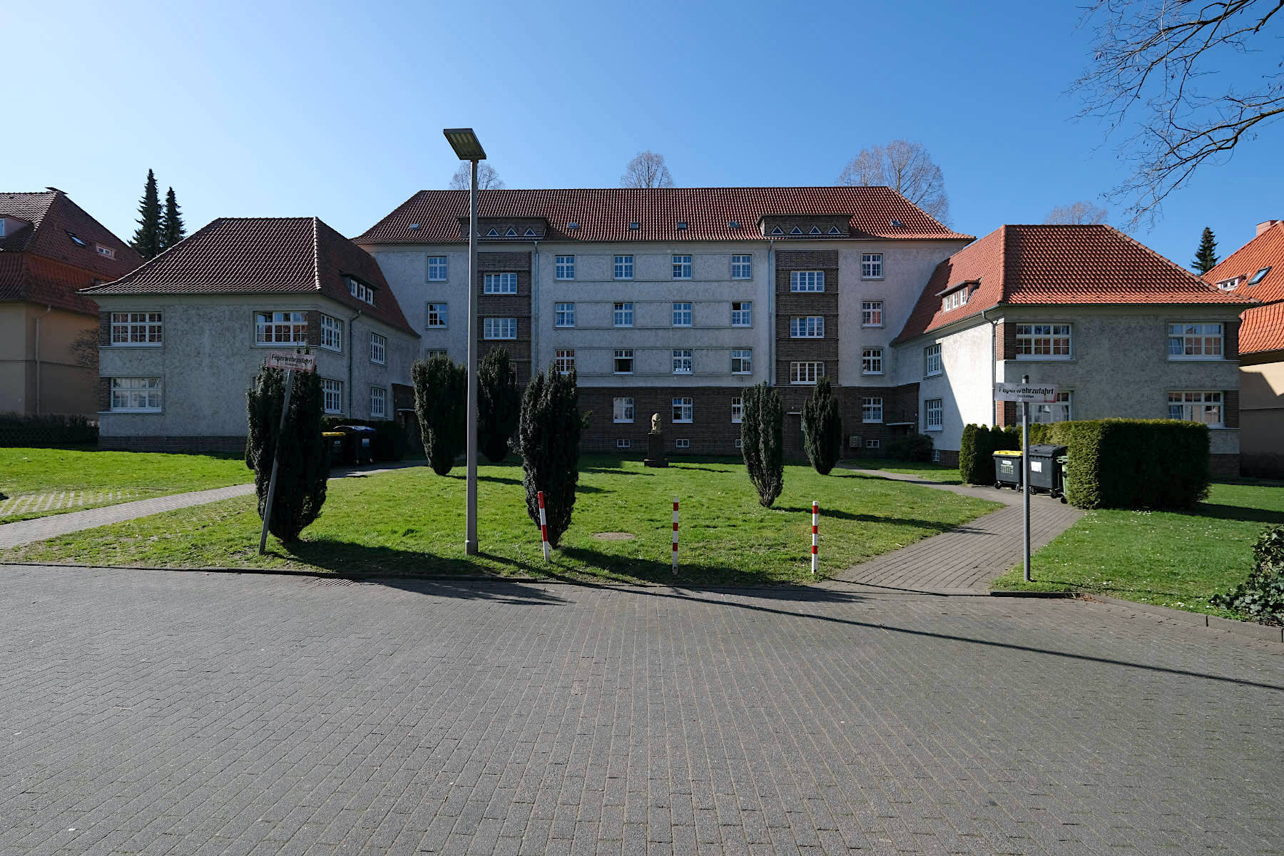 Siedlung Im Siekerfelde. Entwurf: Gustav Vogt. Fertigstellung: 1930.