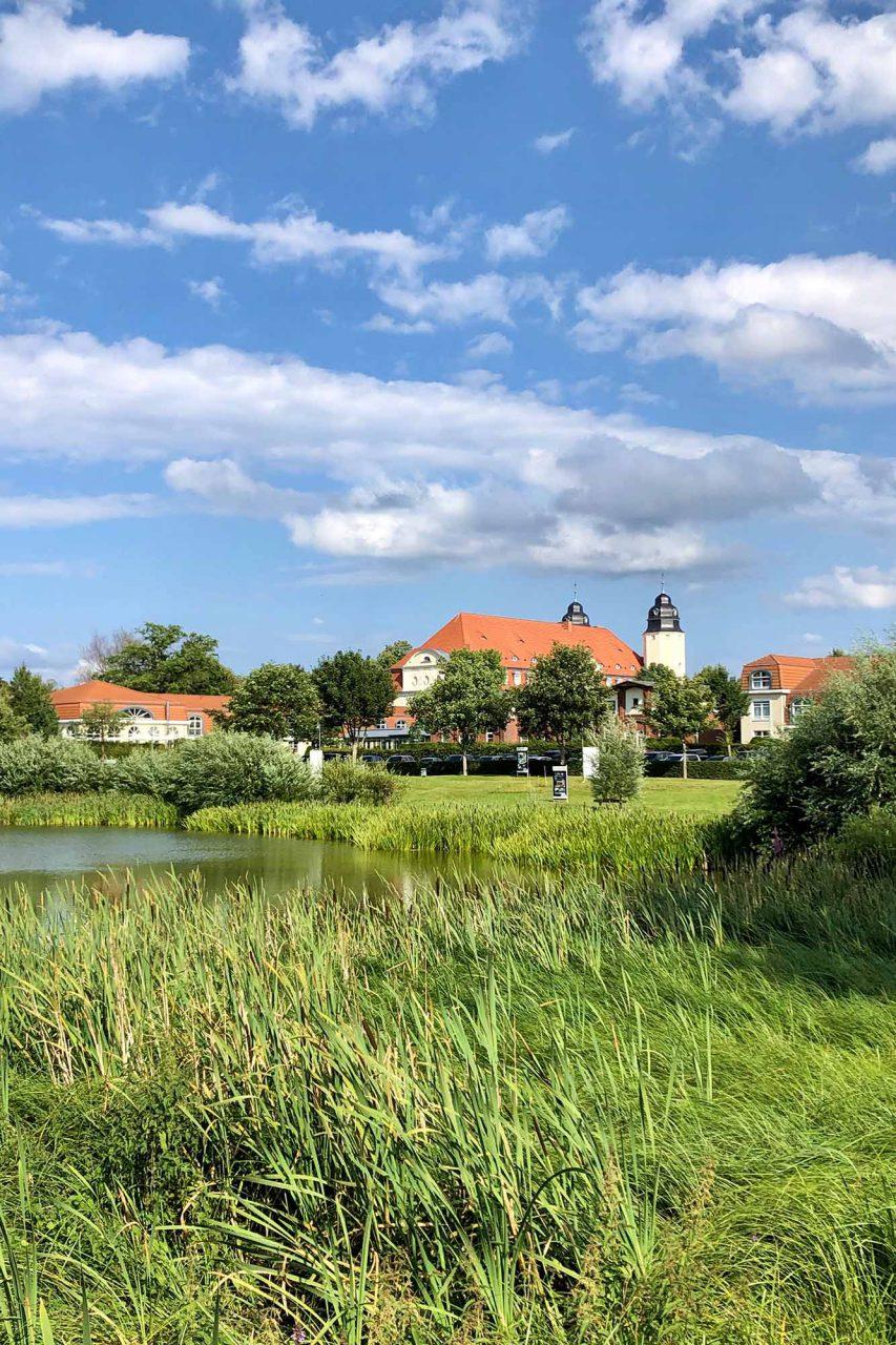 Die Anlage. ist eingebettet in die malerische, mecklenburgische Landschaft.