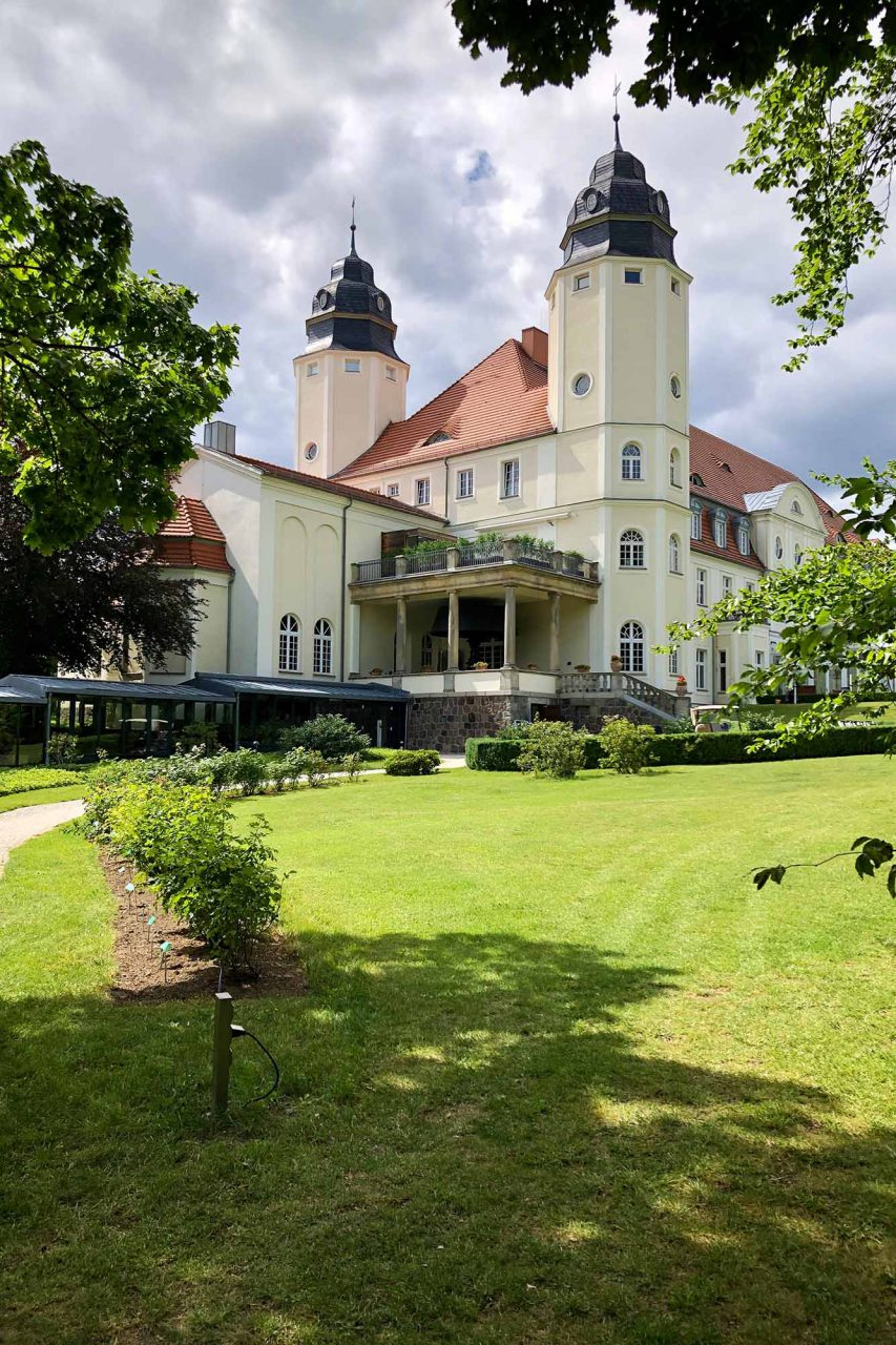 Die Geschichte. des Schlosshotel reicht bis tief ins 19. Jahrhundert.